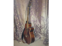 Tanglewood r/h acoustic guitar, TW45N-DLX-FC4