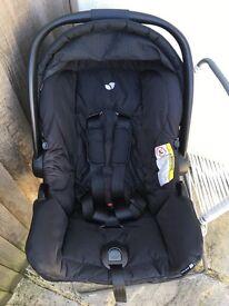 Joie Gemm 0-13kg Car Seat Black