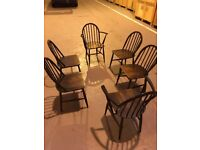 Ercol Windsor dinning chairs