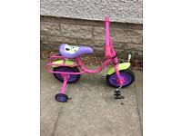 Girls Minnie Mouse Bike