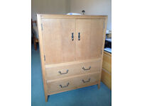 Antique Cabinet - C.W.S Ltd Cabinet Factory Shirley Licence No: 2036