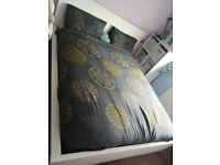 IKEA king size bed/ Habitat sofa/Kitchen table 4 chairs/Argos shelving unit etc