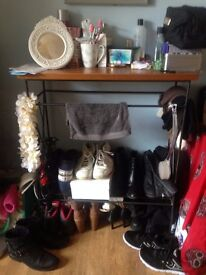 LONG SIDE SHOE AND MAKE UP TABLE AND SMALL COFFEE TABLE