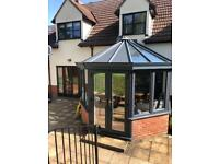 SOLD uPVC Sunroom/Conservatory. External measures 3.5m wide by 3m deep