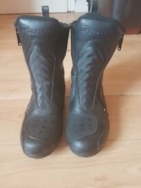 Ladies Motorcycle Boots Size 4