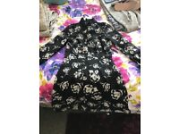 Lipsy Michelle keegan floral skater dress size 8