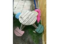 Child outdoor table