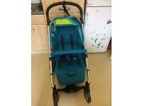 Mamas and papas sola 2 pushchair and Carrycot