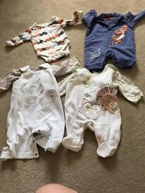 Baby boy newborn little bundle