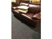 Used quality leather sofa