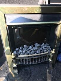 Electric coal effect fire