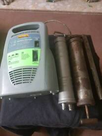 Battery Charger, Hydraulic Pump and Grease Gun
