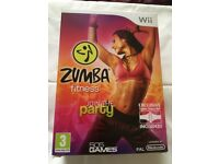 Nintendo Wii Zumba Fitness Join the Party Brand New