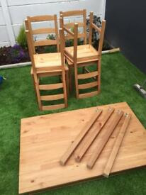 IKEA JOKKMOKK TABLE AND CHAIRS