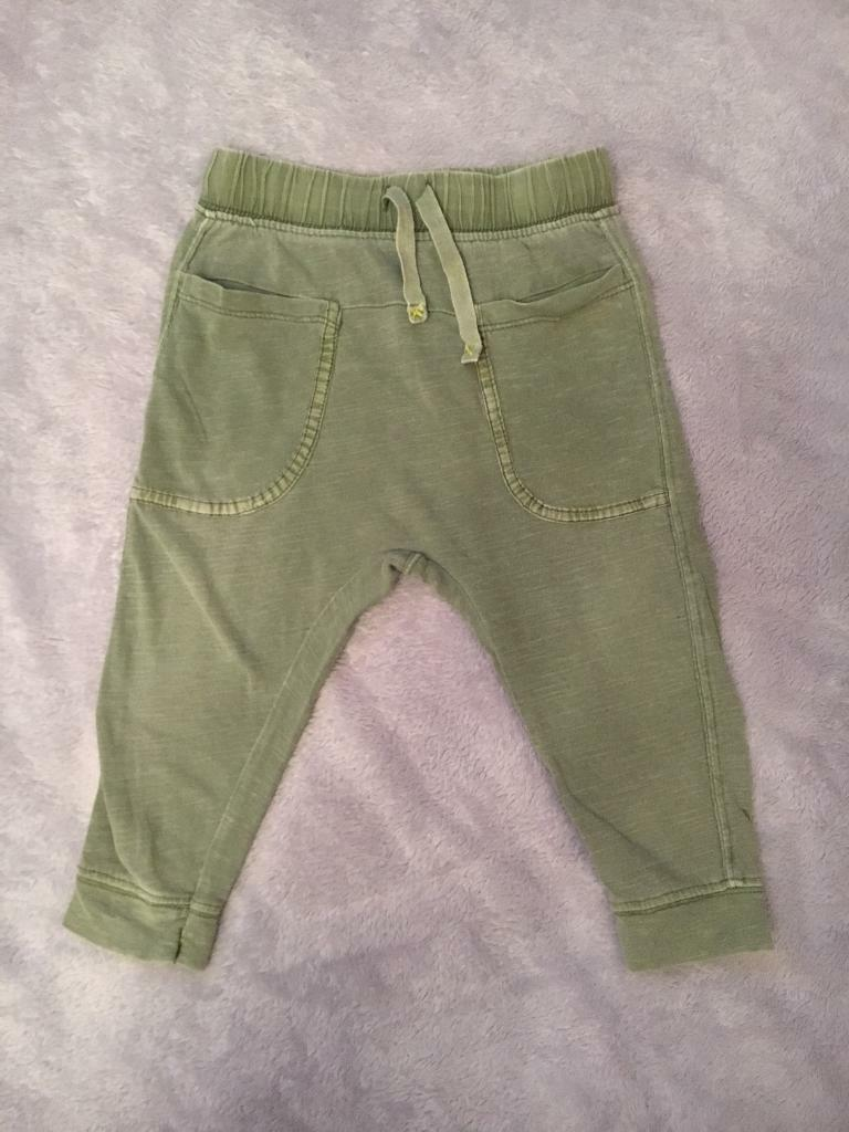 Zara baby boys leggings 12/18 months