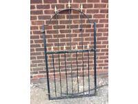 Wrought iron style gate