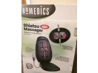 Shiatsu back massager