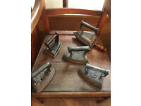 Retro Old Iron's - great for door stops..... 5 available , biggest is £35 , start from £25
