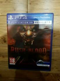 Until Dawn Rush of Blood for PS4