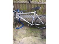 Claud butler frame and forks bars bike hardtail