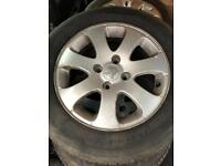 "Peugeot 307 15"" alloy wheels"