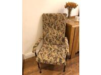 FREE retro upholstered armchair