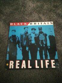 Black Britain Real Life 12inch vinyl single