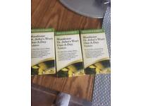 St, johns wort tablets.