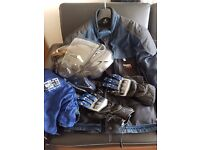 Motorcycle helmet jacket and gloves for sale