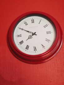 Lovely vintage wall clock - kitchen bedroom living room