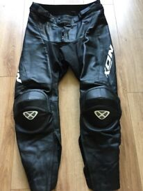 Ixon biker leathers & Kevlar jeans all in excellent condition xl 34 waist