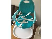 Chicco snack pocket high chair