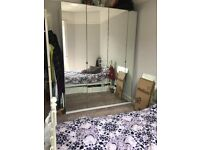 Mirrored ikea PAX wardrobes