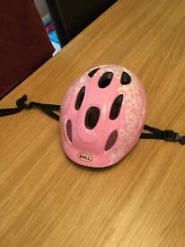 Girls bike helmet 46-52 size