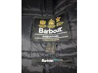 Genuine Barbour International coat like brand new