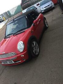 2005 mini one convertible