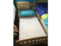 John Lewis toddler bed and mattress