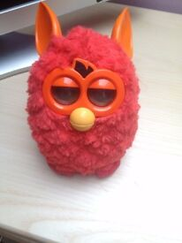 red furby in great condition cost £65