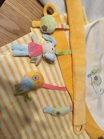 Lollipop Lane Pumpkin & Popsicle Nursery/Baby Curtains & Lampshade