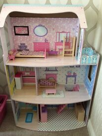 Kids Open Front Dolls House