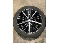 VW Tiguan wheel 18 inch