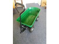 Plastic Garden Cart 75L with tipper action