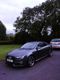 Audi a5 black edtion ( Low miles ) 2012