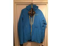 Brand New With Tags Norrona Lofoten Primaloft Insulated Gore Tex Ski Jacket, Medium, Blue