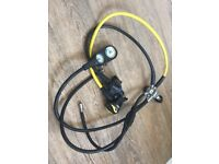 Oceanic alpha 8 scuba diving regulators