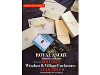 Royal Ascot Village Enclosure Saturday 23rd June