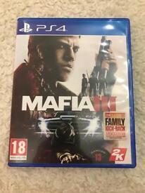 Mafia 3 for PS4 - Like new