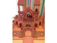 Gorgeous princess castle and figures ELC