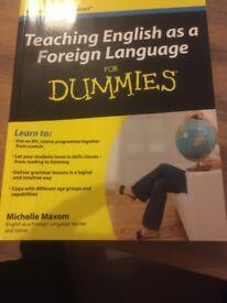 TEFL books- see details