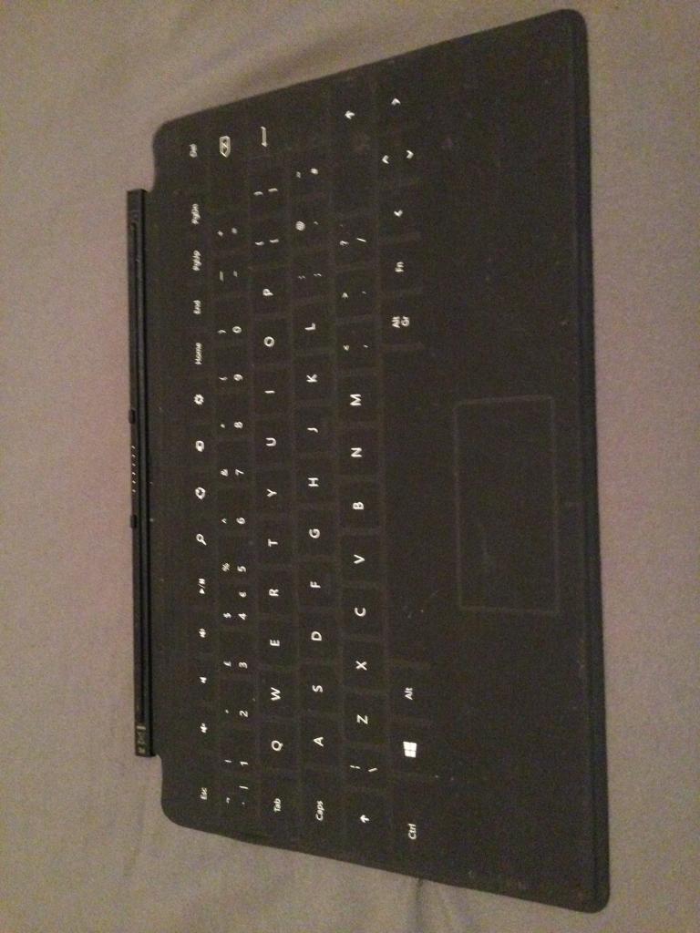 Windows surface 2 keyboard.
